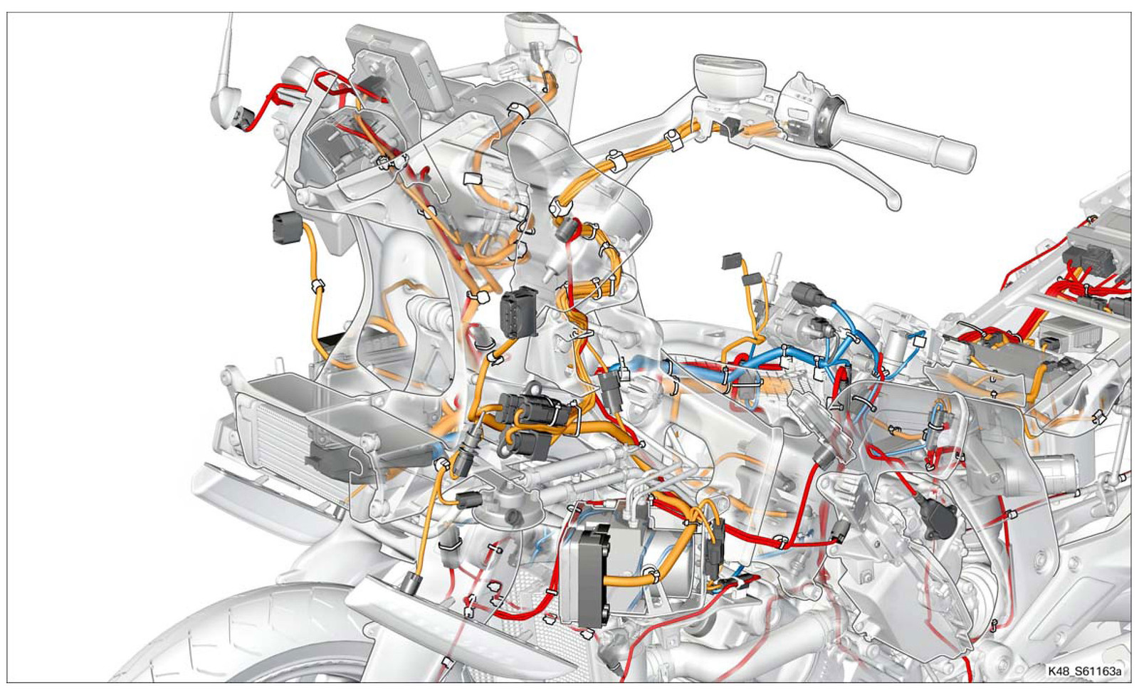 Bmw K 1600 Wiring Diagram Great Design Of Mars 10464 Diagrams How The K1600 Is Wired Forum Rh K1600forum Com