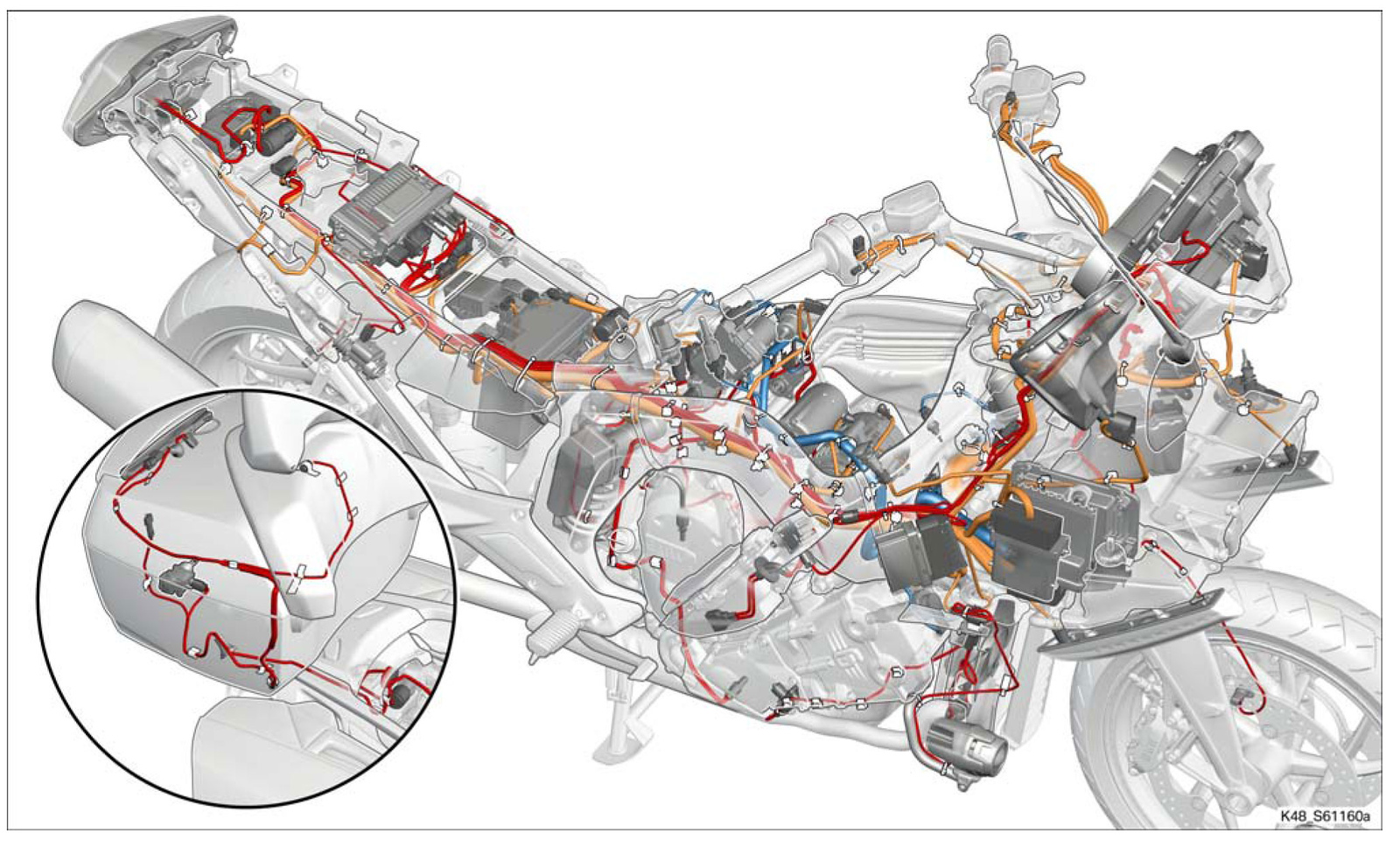 Wiring Diagrams How The K1600 Is Wired Bmw Forum Distribution Electrical Gt And Gtl Forums